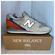 New Balance M 996 Pd / Us 11.5 / Made In Usa / Atmos Solebox Toothpaste