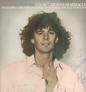 Colin Blunstone I Don't Believe In Miracles Lp Vinyl Uk Cbs 1979 16 Track With