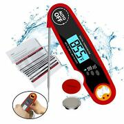 Meat Thermometer For Cooking Waterproof Instant Read Candy Food Thermometer