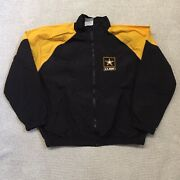 Us Army Mens Embroidered Military Recruiting Jacket Size Xl 100 Nylon