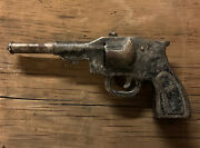 Antique/vintage Toy Cap Gun Unknown Make/model/year For Parts Or Repair A5