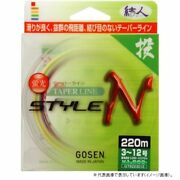 Gosen Tapered Line Style N 170m 5-12 Ship From Japan