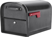 Locking Mailbox Security Box Prevents Phishing X-large Parcel Size 2 Doors Steel