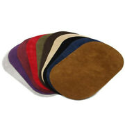 10pcs Suede Leather Oval Elbow Knee Patches Diy Repair Sewing Applique 7 X 4.33