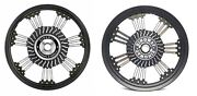 Royal Enfield Classic Alloy Wheel Set 21 Spokes - Front Disc 19and039and039 Rear Drum 18and039and039
