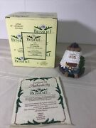Belsnickle 2003 Annual Bell By Enesco Santa With Ark Mint In Box W/ Coa
