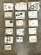 Brand New Stampin Up Stamps Unmounted Lot Of 16 - 100+ Individual