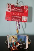 Disney Store 2018 Chip 'n Dale Legacy Sketchbook Ornament Limited Release New