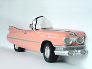 Pink Cadillac Car Wall Decor Full Size - With Functional Head Lights