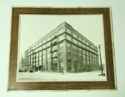 8x10 Photo Vintage Gm Auto Delco Products Administration Building Cars Dayton