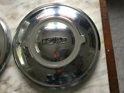 1951-61 Jaguar Hubcaps. Two Only