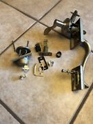 Schlage Entry Door Handle And Dead Bolt Lock Set Pre Owned .working , Complete.