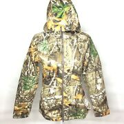 Under Armour Real Tree Edge Brow Tine Hunting Jacket Womens Size Small