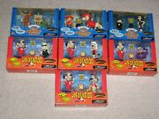 1998 Complete Mint 7 Sets Underdog And Bullwinkle Dudley Do Right And More