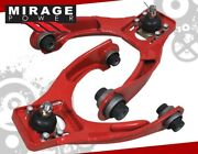 For 96-00 Civic Upgrade Racing Adjustable Front Upper Red Control Arm Camber Kit