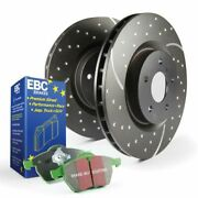Ebc Brakes S3kf1174 Stage 3 Truck/suv Disc Brake Pad And Rotor Kit Front New