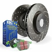 Ebc Brakes S3kf1199 Stage 3 Truck/suv Disc Brake Pad And Rotor Kit Front New