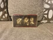 Dept 56 Snowbabies Christmas Trimmings Set Of 3 Ornaments Retired 69327