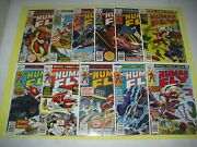 The Human Fly Issue Run 1-11 All Around Vf Or Better From 1977 Marvel 2231