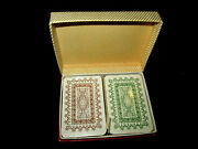 Vintage Patience Playing Cards Double Deck In Box Unopened Sealed Cards