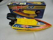 Yego Turbo Outboard Toy Boat Firewolf 33. 1992