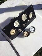 Vintage Speedster Dashboard Fire Truck Teens 10s 20s 30s Hot Rod Prewar Race Car