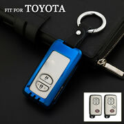 Zinc Alloy Smart Car Key Case Cover For Toyota 4runner Prius Camry Avalon Venza