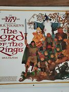 J.r.r. Tolkien Calendar 1979 The Hobbit - Lord Of The Rings Lotr Excellent Art