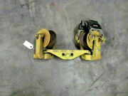 Industrial Ceiling Mount Pulley, Textile Mill Salvage, With 47' Track