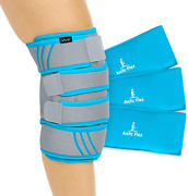 Compression Knee Ice Wrap Heat Pain Relief Therapy Recovery Sport Injury Sprain