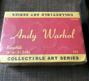 Lot/24 Andy Warhol Series-1 Campbell's Soup Can Mystery Art Figures Kidrobot