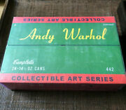Lot/24 Andy Warhol Series-2 Campbell's Soup Can Mystery Art Figures Toy Kidrobot