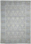 100 Wool Grey Rug 10x14 Persien Hand Knotted Oriental Trellis Extra Large