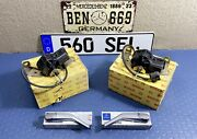 Mercedes Benz W126 Headlights Wiper Motors And Arms And Blades Genuine Nos Bosch