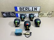Mercedes Benz W126 560sel Complete Set Of Air Cell With Sensor Hpf Genuine New