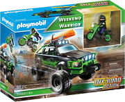 Playmobil Off-road Action Weekend Warrior 70460 For Kids 6 Years Old And Up