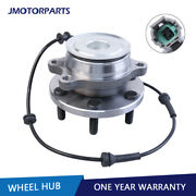 Left/right Front Wheel Bearing Hub For Nissan Frontier Pathfinder Xterra 2wd