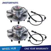 Left And Right Front Wheel Hub Assembly W/ Abs For 2004-2005 Ford F-150 515046 4wd