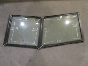Marine Boat Port Left Side And Center Windshield Front Window 28 X 25 X 21 X 20