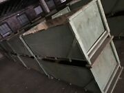 Used Manufacturing Wood Process Bins Heavy Duty Lot 150 Pickup Only 6and039x3and039x3and039