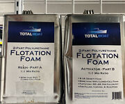 Totalboat Liquid Urethane Foam Kit 2 Lb Density Closed Cell For Flotation And Ins