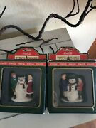 Coca Cola Town Square Collection Figurines Snow Bear And Andnbspthirsty