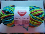 Red Heart Sweet Home Chenille/plush Yarn, Blacklight, 1 Large Skein 193 Yds