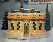 Enesco It's A Wonderful Life Village- Bedford Falls Post Office With Box