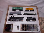 American Flyer 20615 Thunderbolt Freight Very Nice Set Gift Ready Lot M-53