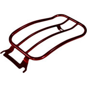 Motherwell 7 Solo Flat Red Rear Luggage Rack Harley Touring Bagger Dresser 97+