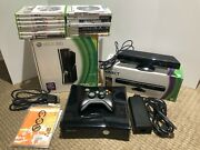 Microsoft Xbox 360 S 250gb System With Kinect 16 Games Tested Everything Works