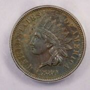 1880-p 1880 Indian Head Cent Icg Ms63 Bn