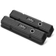 241-242 Holley Valve Covers Set Of 2 New For Chevy Express Van Savana C1500 Pair