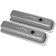241-246 Holley Set Of 2 Valve Covers New For Chevy Suburban Express Van Pair
